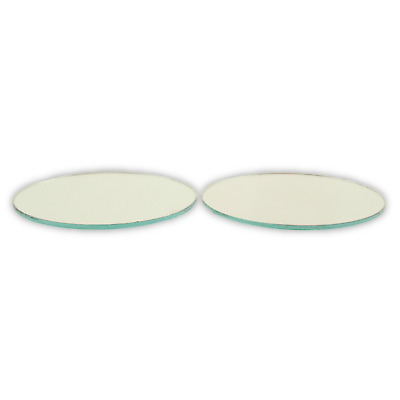 3 inch Small Round Craft Mirrors 2 Pieces Also Mirror Mosaic Tiles