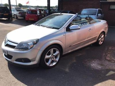 Vauxhall Astra 1.6 Twin Top Sport Coupe Cabriolet Convertible 71K Miles, Alloys
