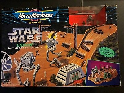 Star Wars -Micro Machines -Space Endor -Return of The Jedi Figure- New
