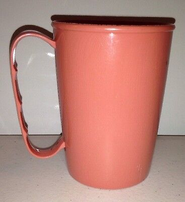 Vintage Gothamware Pink Plastic Cup 8 oz. Made in USA