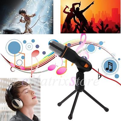 With Tripod Stand! Sound Recording Audio Studio Brocasting Condenser Microphone
