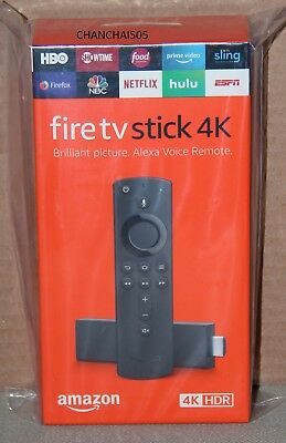 *NEW*  Fire TV Stick 4K with all-new Alexa Voice Remote, streaming media player
