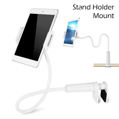 360 Gooseneck Table Bed Clamp Stand Holder Mount For iPad Tablet Flexible Arm EF