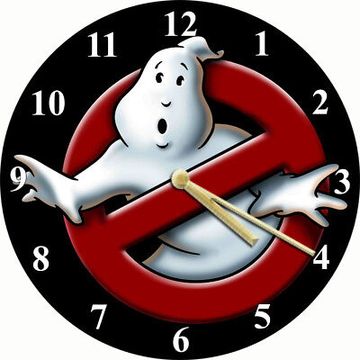 NOVELTY WALL CLOCK - 80s Ghostbusters Design - Character Wall Clock