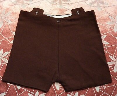 1940s Vintage CC41 Baby Boys Brown Shorts~Old Shop Stock~Utility Label