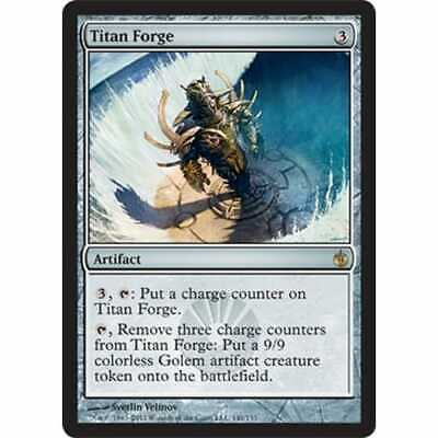 Artifact Mirrodin Besieged Mtg Magic Rare 1x x1 1 FOIL Titan Forge