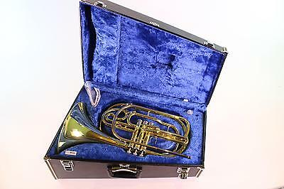 Yamaha YHR-302M Bb Marching French Horn in LACQUER MINT CONDITION