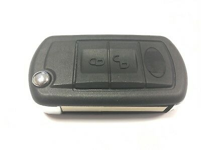 Replacement 3 button flip key case for Land Rover Discovery 3 remote fob
