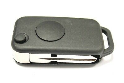 Replacement 1 button flip key case for Mercedes A C E S Class remote infra red
