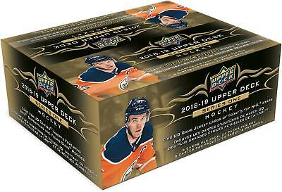 2018-19 Upper Deck Hockey Series 1 Factory Sealed 24 Pack Box