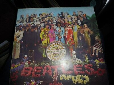 """The Beatles *Italy* """"Sgt. Peppers Lonely Hearts Club Band""""  3C 064 4177"""