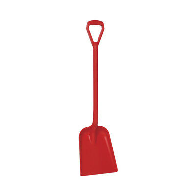 D Grip Handle Plastic Shovel - Easy Clean - Rot & Rust Proof - Food Industry