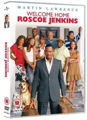 Welcome Home Roscoe Jenkins (DVD, 2010) NEW Martin Lawrence Gift Idea