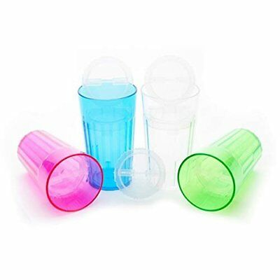 Reflo Smart Cup with Open Rim Flow Control Training Cup - 4 pack