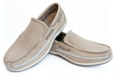 Wholesale Mens Boat Shoes by Case 12 Pack NEW Flexsoles Cruiser Slip-On Air Mesh
