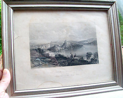 1843 Capo Miseno View Sportfishing Framed. Campania