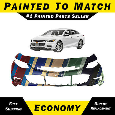 NEW Painted To Match - Front Bumper Cover for 2016-2018 Chevy Malibu LT Premier