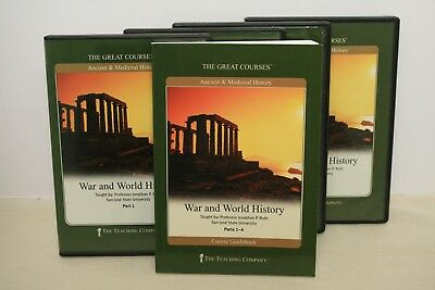 Great Courses- Audio CDs & Book- War And World History