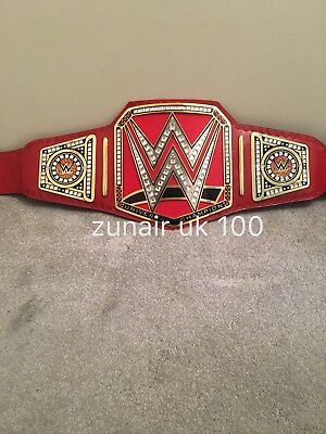 WWE  Universal  championship replica Adult Size Leather Belt / Free Carry Case