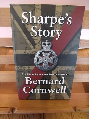 SHARPE'S STORY SIGNED BERNARD CORNWELL SHARPE APPRECIATION SOCIETY 1st 2007