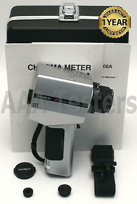 Konica Minolta CS-100A Chroma Meter Non Contact Color & Luminance Meter CS100A