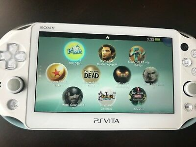 SONY PLAYSTATION PS Vita Modded Slim 3 68 Henkaku 64GB Loaded games + roms