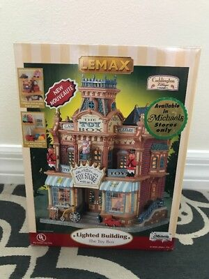 Lemax The Toy Box Lighted Building Brand New Nrfb 2005 (#55267)