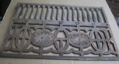 Hints of Copper Cast/Bronze/Brass  Fireplace Architectural Salvage 13 x 19