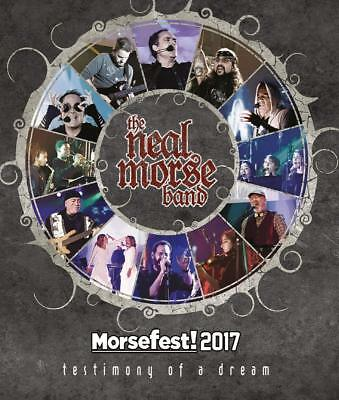The Neal Morse Band - Morsefest 2017: The Testimony Of A Dream  2 Blu-Ray New!