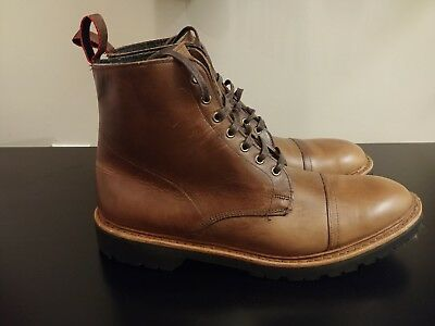 7bcc1f6708a ALLEN EDMONDS VANCOUVER Boot Size 10.5 New Never Worn - Natural Chromexcel