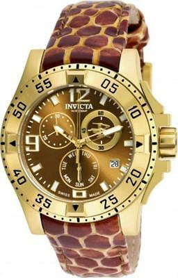 Invicta Reserve 18325 Excursion Swiss Made Chronograph Day Date Womens Watch