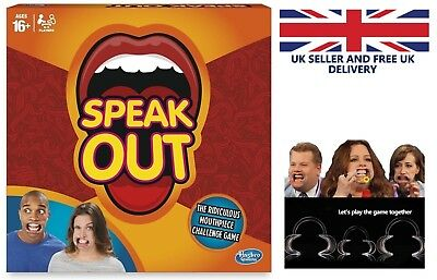 Speak Out Game - Party Mouthpiece Challenge - Brand New - Extra Mouth Piece Avai