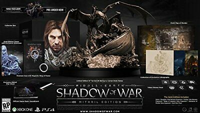 Middle-Earth: Shadow of War Mithril Collector's Edition *Brand New* (PC, 2015)