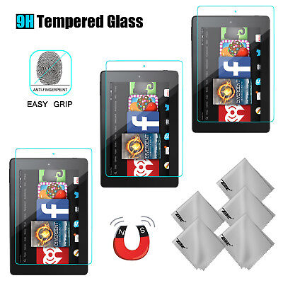 For Amazon All-New Fire HD 7 2017 7th Gen Tempered Glass Tablet Screen Protector