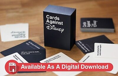 Cards Against Disney - Disney Edition Of Cards Against Humanity; Your Childhood