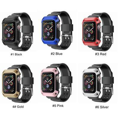 059df1240708 ... FOR APPLE WATCH 4 Band 40mm 44mm Clayco Hera Protective Case w