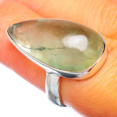 Prehnite 925 Sterling Silver Ring Size 6.25 Ana Co Jewelry R913580F