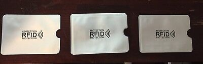 10 piece Safety Sleeves RFID Protectors Credit Card & Identity Theft Protection