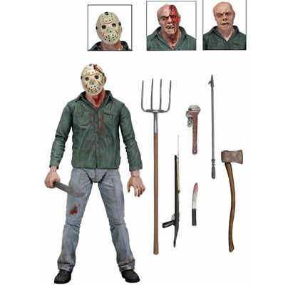Friday the 13th Jason Voorhees Action Figuren Freddy Figure Geschenk Figure toy