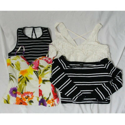 Womens Crop Tops, Lot of 4, Size Small