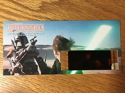 Star Wars Return of the Jedi -TURNING POINTS-Authentic 70mm Film Cell Card