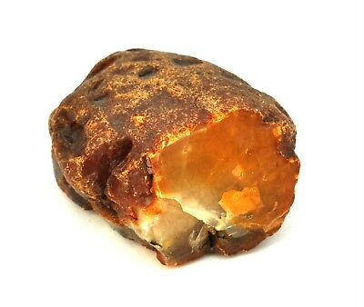 琥珀蜜蜡原石 raw amber stone rock 83.96g honey beeswax 100% natural Baltic 天然波罗的海琥