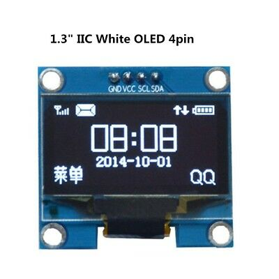 "1.3 ""OLED LCD 4PIN Display Module IIC I2C Interface 128x64 para Arduino SA"