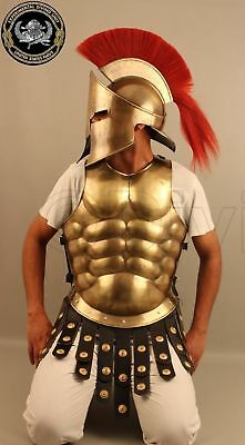Movie 300 Spartan Deluxe Mens Costume Medieval War Theme Party