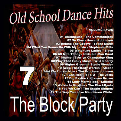 Vol. 7 Block Party Mega Hits Old School Mixtape CD Compilation