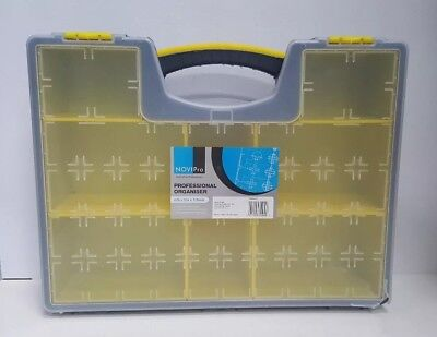 NoviPro Professional Organiser With Removable Compartments For Screws Nails