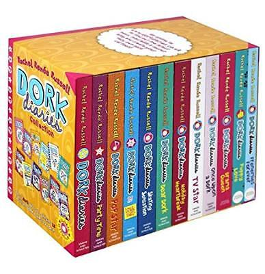 Dork Diaries 12 Books Box Set Collection By Rachel Renee Russell (Paperback)