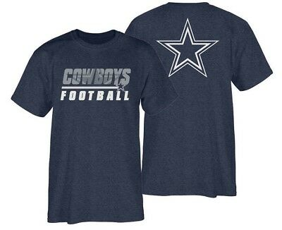 NFL Dallas Cowboys Authentic Fade Back Super Rival Adult Men's T-Shirt BNWT
