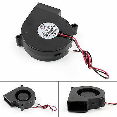 Brushless DC Cooling Blower Fan 5V 7525S 75x75x25mm 0.18A Sleeve 2 Pin Wire SA