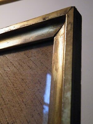 Fine Stylish Simple Restrained English Antique Georgian Gilt Gesso Picture Frame